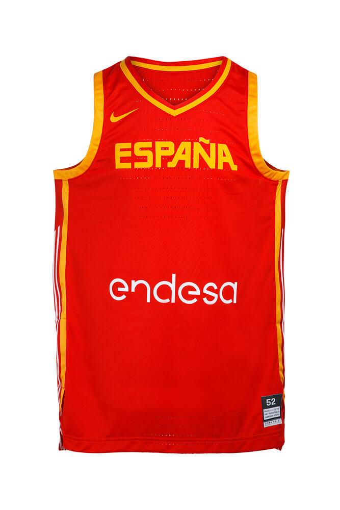Baloncesto España Camiseta 1ª equipación SelMas