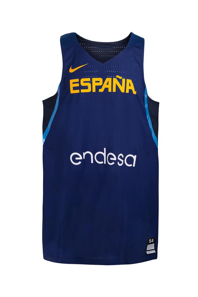 Baloncesto España Camiseta 3ª equipación SelMas azul 2016/17