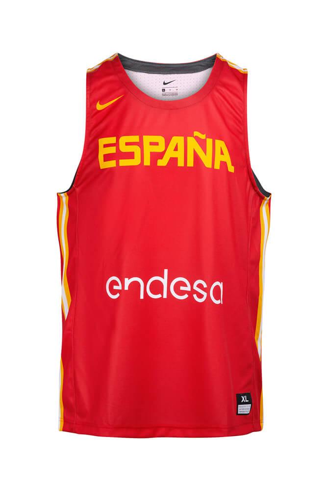 Baloncesto España Camiseta 1ª equipación categorías de formación