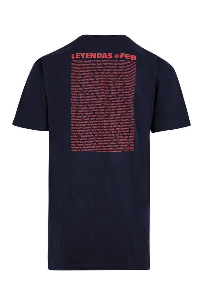 Baloncesto España Camiseta de leyendas azules