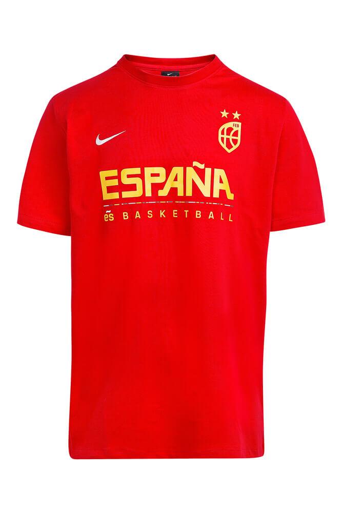 Baloncesto España Camiseta roja Team Marc Gasol