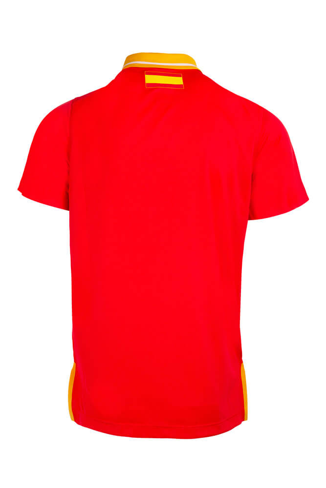 Baloncesto España Polo oficial FEB rojo
