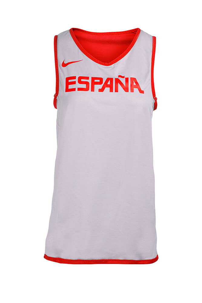 Baloncesto España Camiseta reversible oficial de entrenamiento SelFem