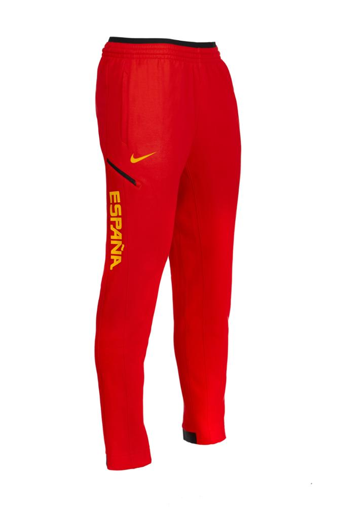 Baloncesto España Pantalon Sportwear Rojo Largo SelFem