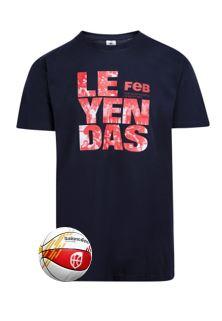 Baloncesto España Pack Mini Balón y Camiseta Leyendas