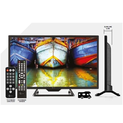 "TELEsystem TV 19"" LED HD CON USB  ULTRA SLIM                  Ref.2819"