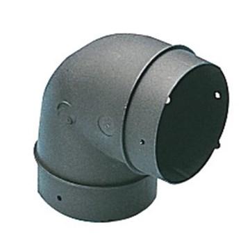 TRUMA CODO PVC NEGRO  60-65