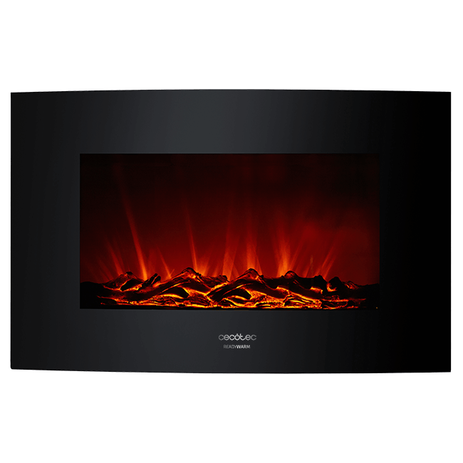 CHIMENEA ELECTRICA CURVED FLAMES 3500