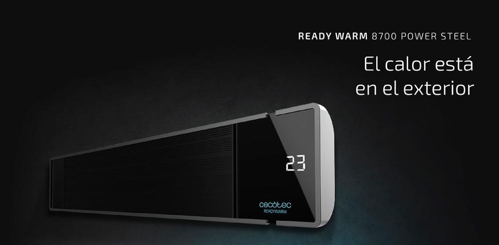 CALEFACTOR HALOGENO READY WARM 8700