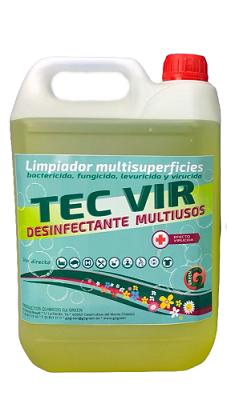 LIMPIADOR MULTIUSOS VIRUCIDA TEC-VIR