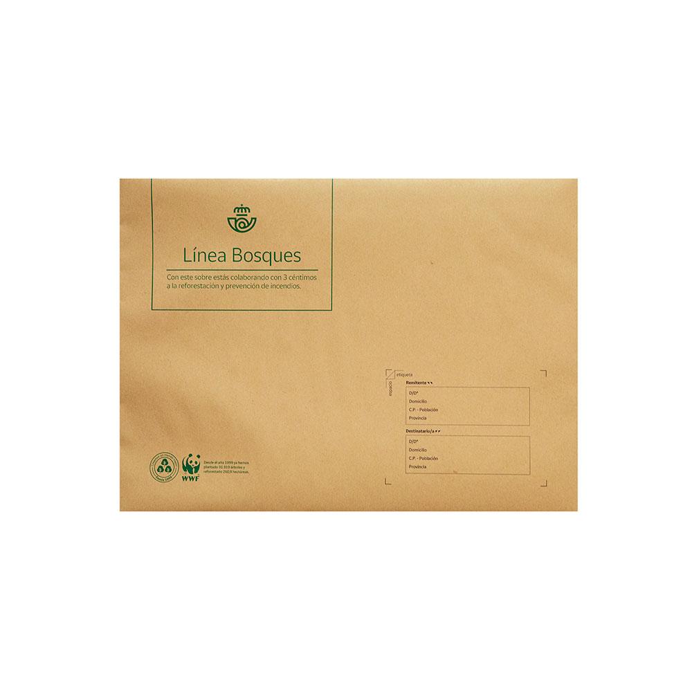 Pack 5 sobres semirrígidos medianos