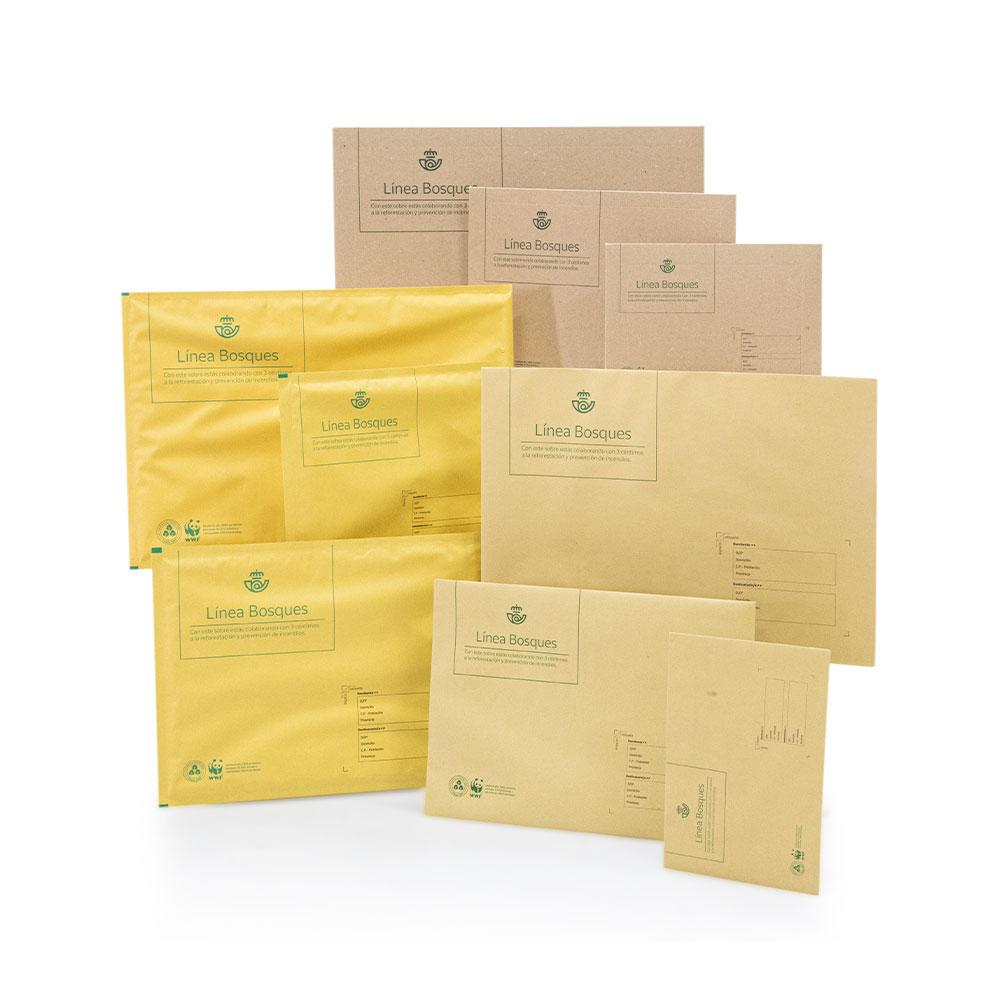 Pack 5 sobres semirrígidos pequeños