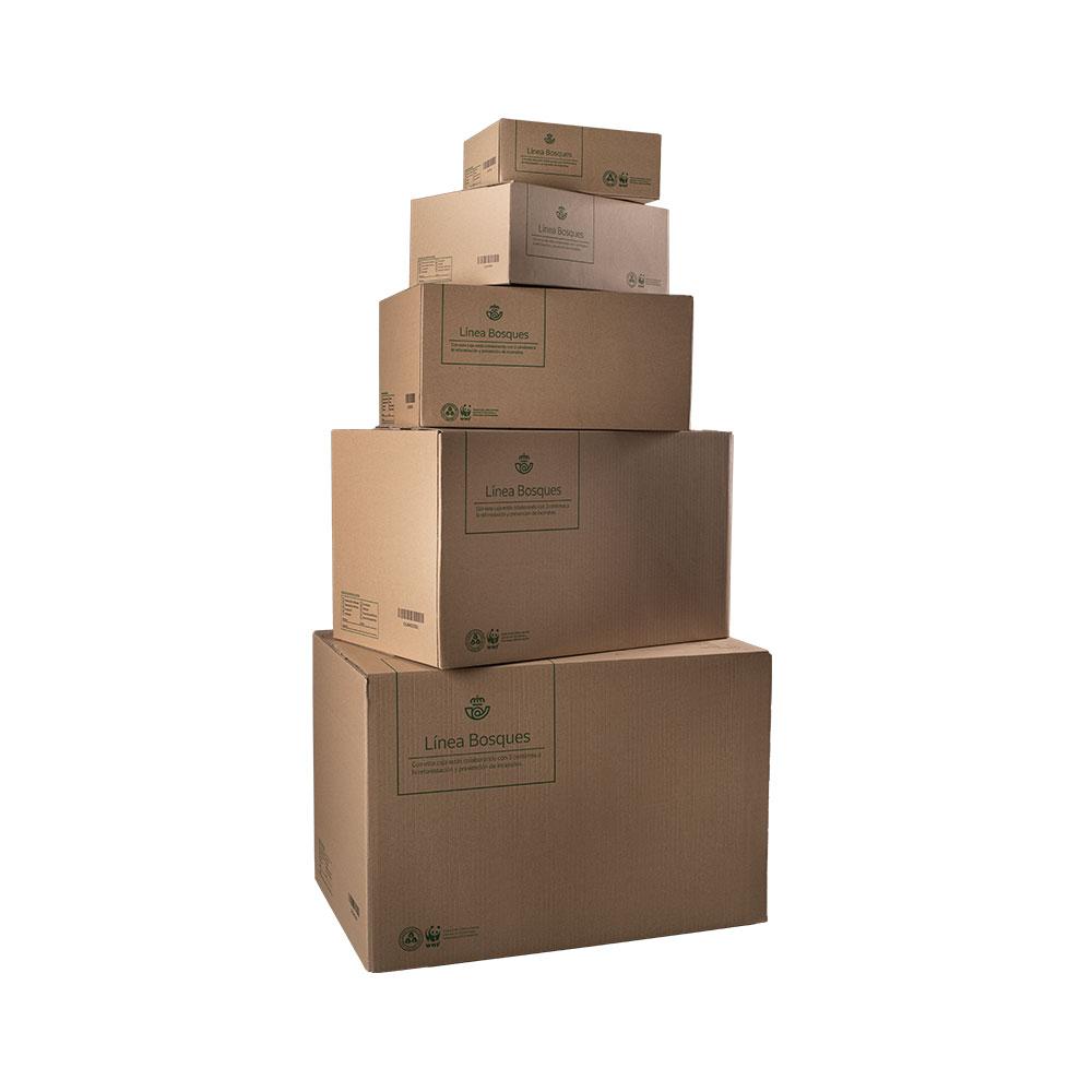 Caja de cartón supergrande
