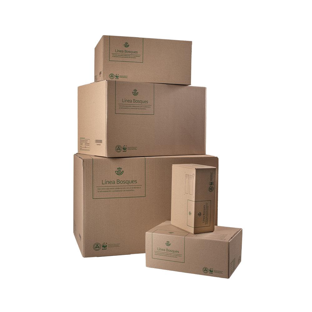 Caja de cartón grande plus