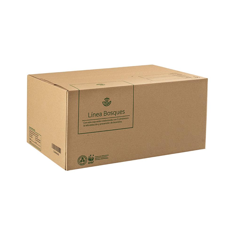 Caja de cartón grande