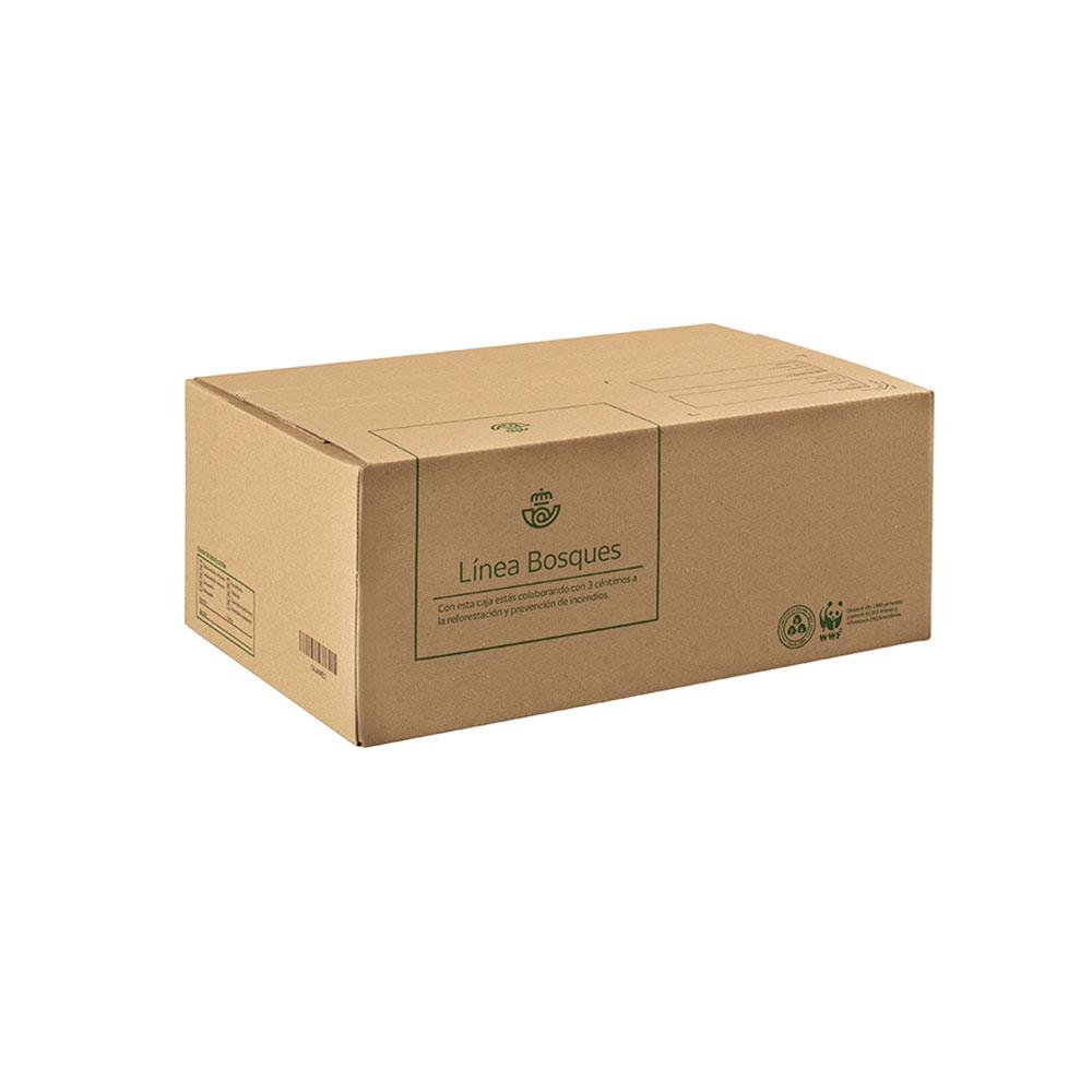 Caja de cartón mediana