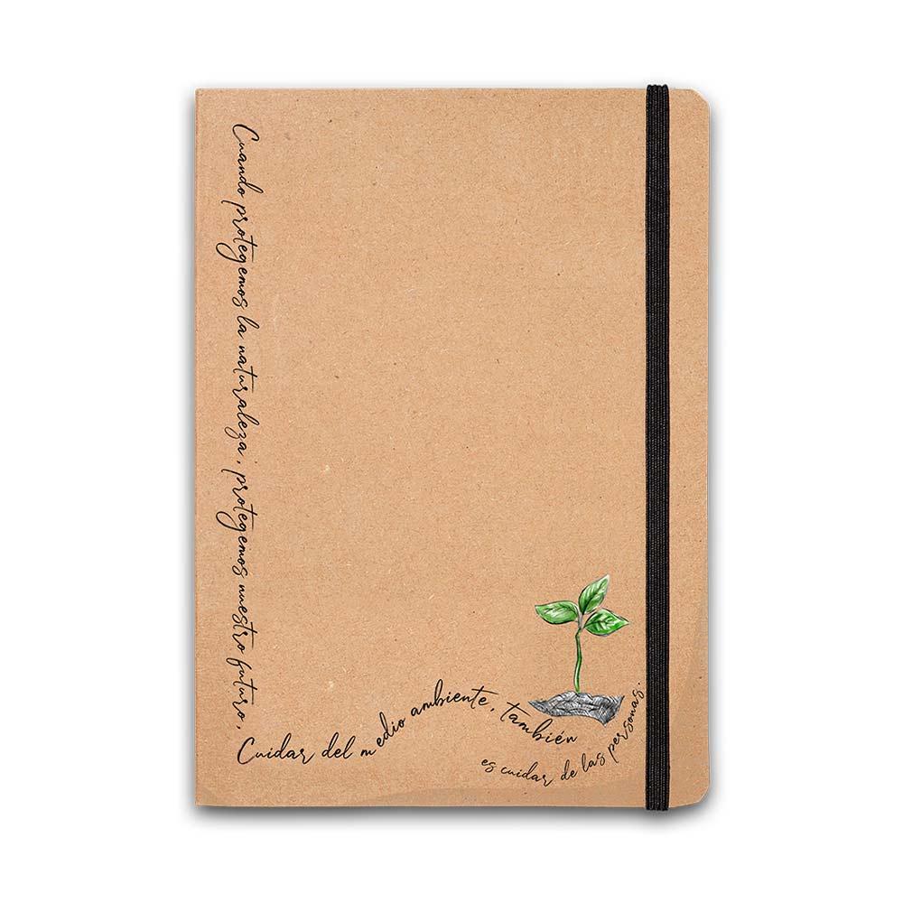 Taza + cuaderno medioambiente Ayuda en Acción