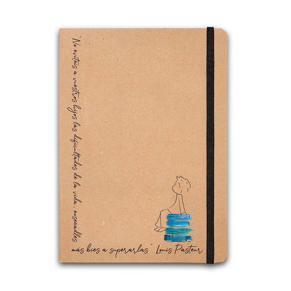Taza + cuaderno infancia Ayuda en Acción