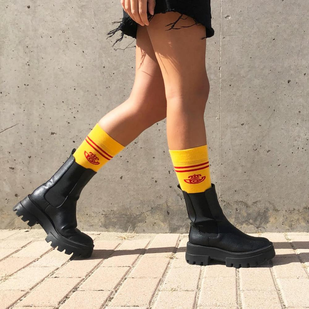 Calcetines vintage Correos