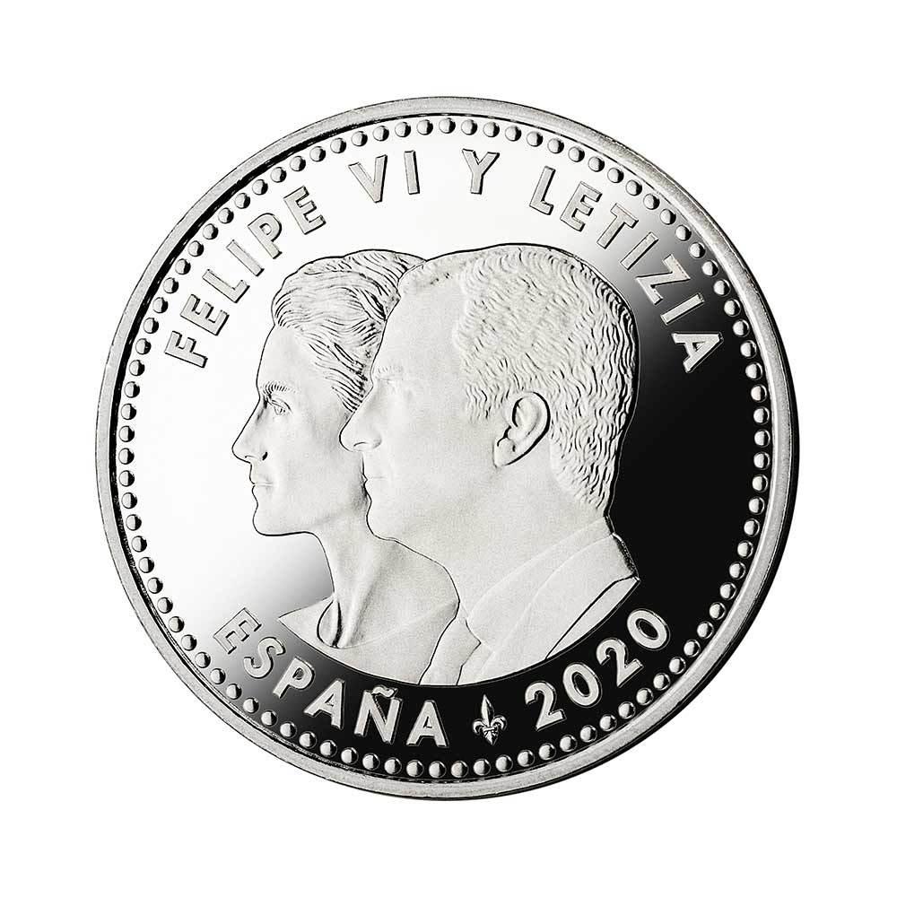 """Moneda solidaria lucha contra la COVID-19 """"Gracias"""""""