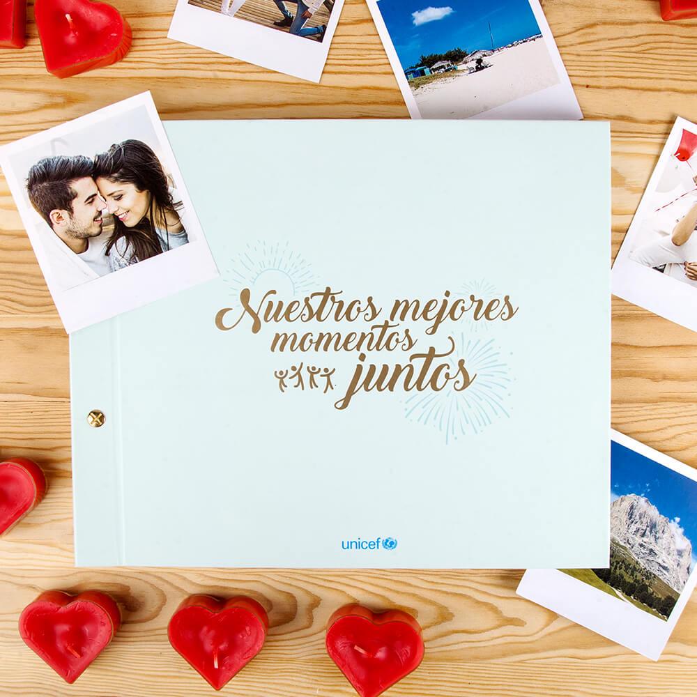 Álbum de fotos mejores momentos UNICEF