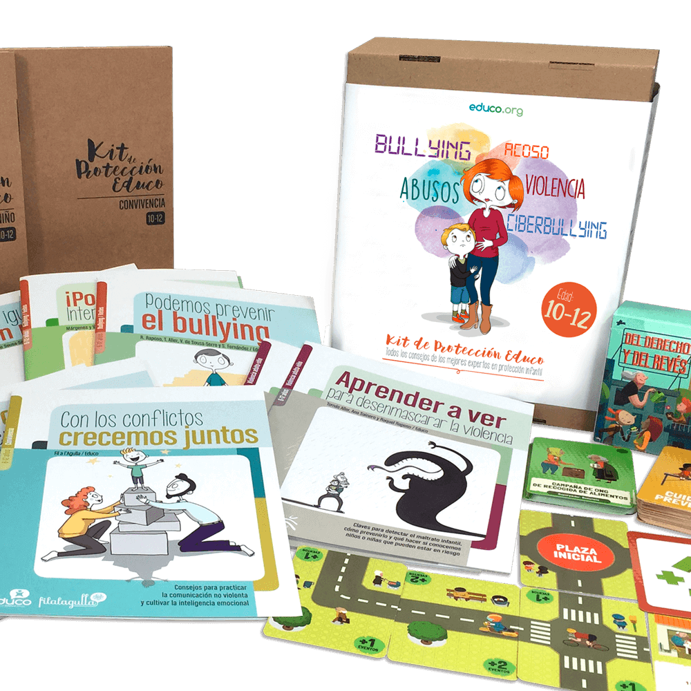 Kit de protección infantil 10-12a Educo