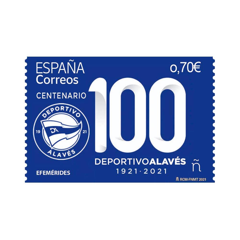 Sello Centenario Deportivo Alavés (pack de 5)