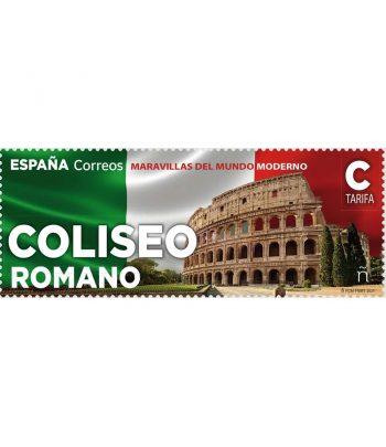 Sello Maravillas del mundo Coliseo (pack de 5)