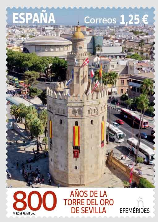Sello Torre del Oro Sevilla (pack de 4)
