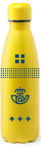 Botella de acero Correos