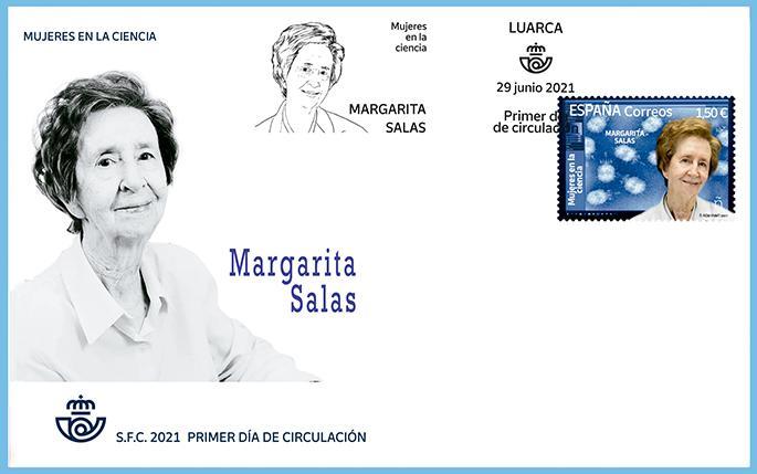 Sobre Primer Día Margarita Salas