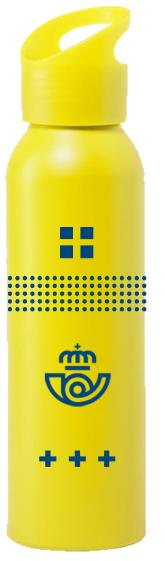 Botella de aluminio Correos