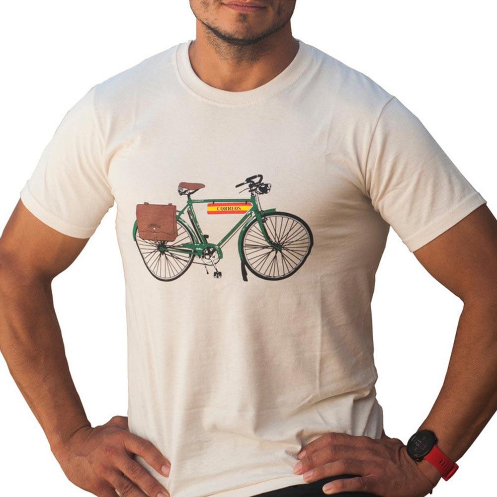 Camiseta bicicleta natural Correos