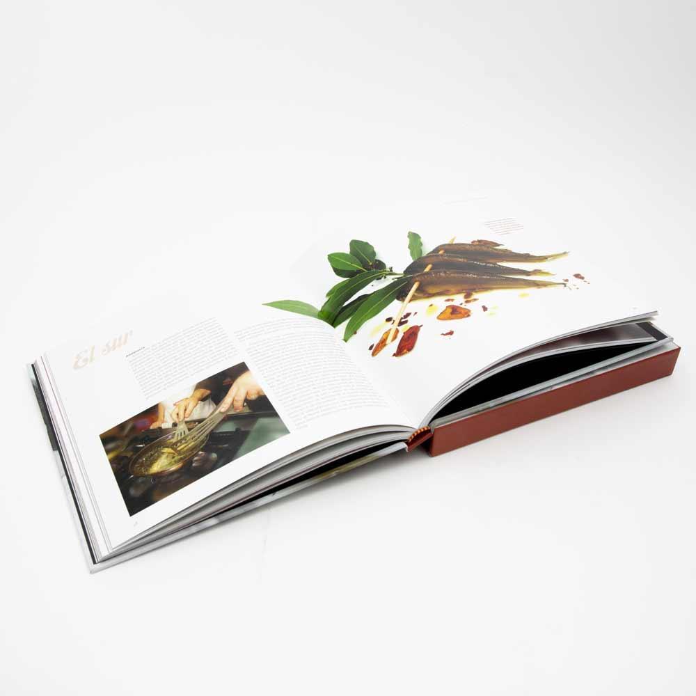 Libro Gastronomía con sello propio