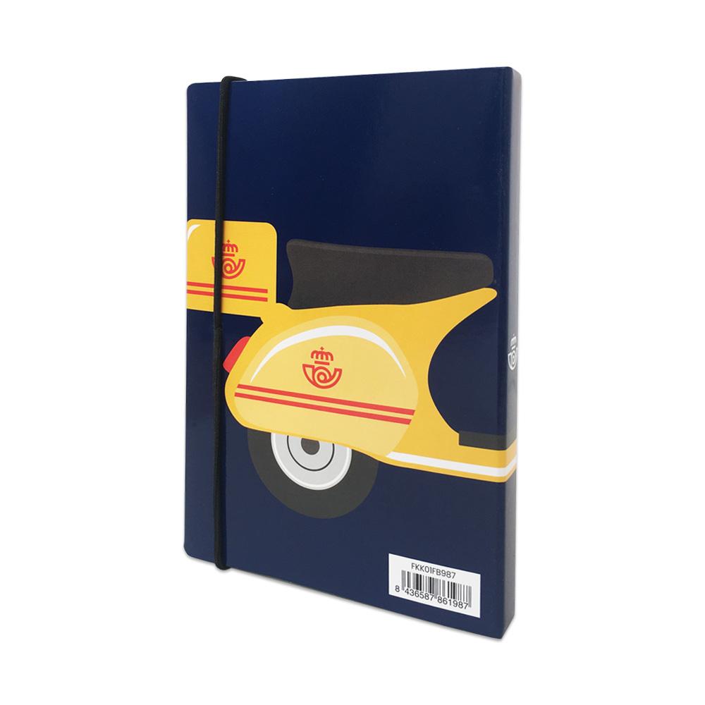 Cuaderno vespa Correos