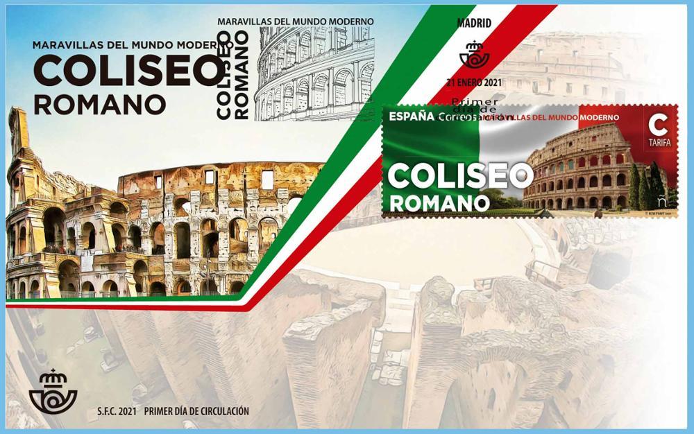 Sobre Primer Día Coliseo Romano