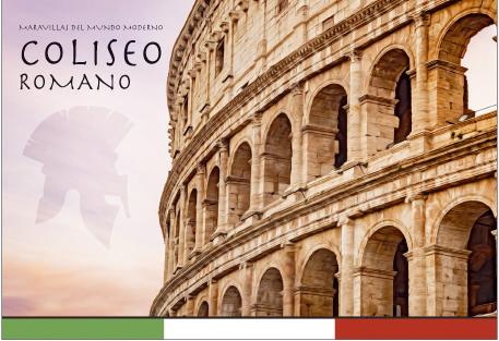 Tarjeta postal Coliseo Romano
