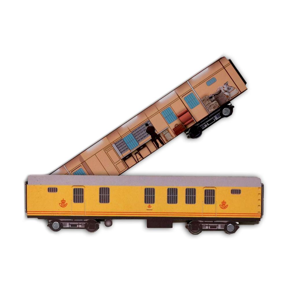 Imán doble vagón ambulante Correos
