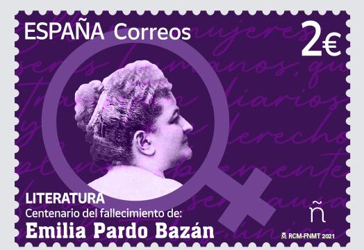 Sello Emilia Pardo Bazán