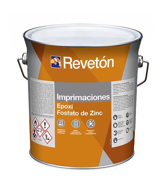 Revetón Imprimación epoxi fosfato de zinz 16L (A+B)