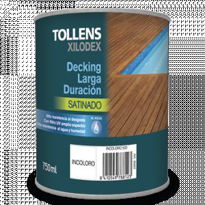 Tollens Decking larga duración satinado al agua 4 L