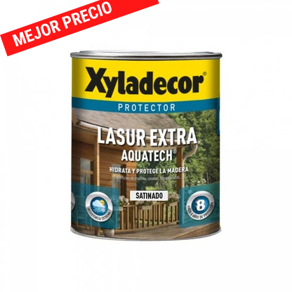 Xyladecor Lasur extra aquatech satinado 750ml - 2.5L