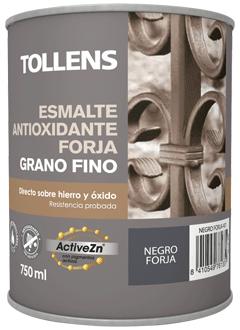 Tollens Esmalte antioxidante forja grano fino marrón óxido 4 L