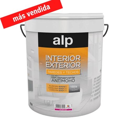 ALP Pintura plástica interior exterior 4 L