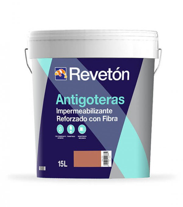 Revetón Antigoteras impermeabilizante  reforzado con fibra 15 L