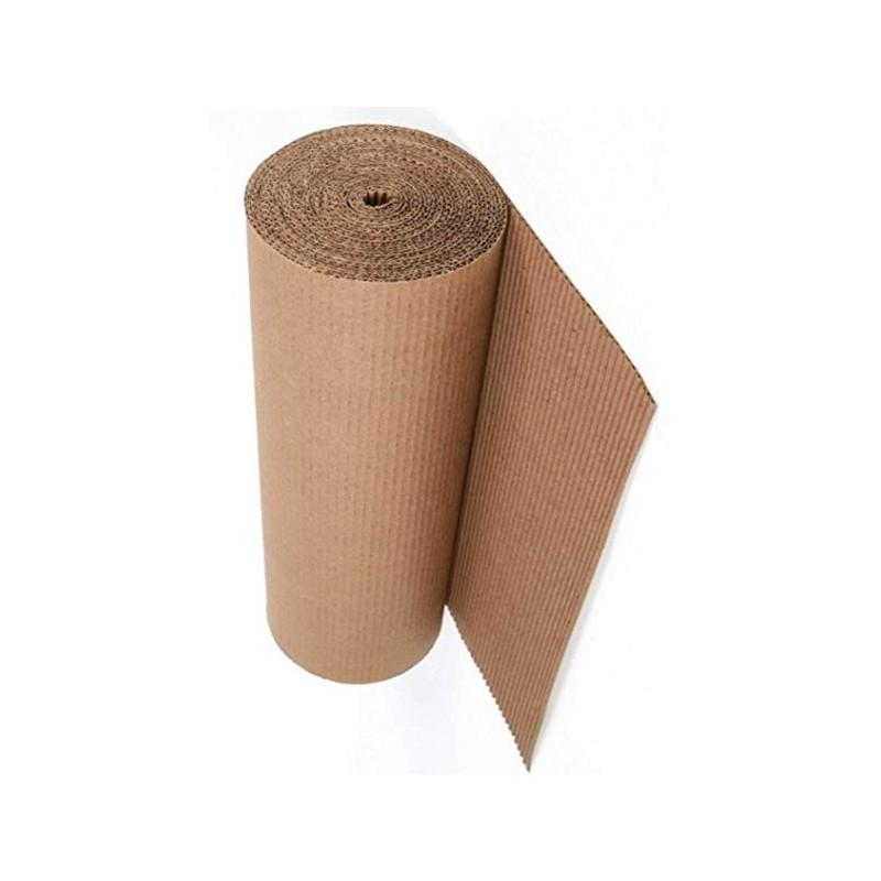 Cartón ondulado 90cm X 25m