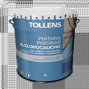 Tollens Pintura piscinas al clorocaucho azul marino 15L