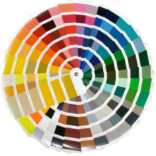 Revetón Carta colores RAL Classic