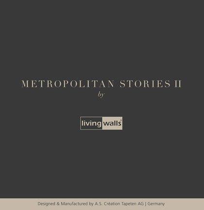 AS creation Papel pintado Metropolitan Stories II