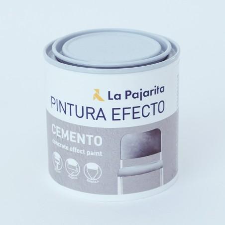 La Pajarita Pintura efecto cemento 250ml